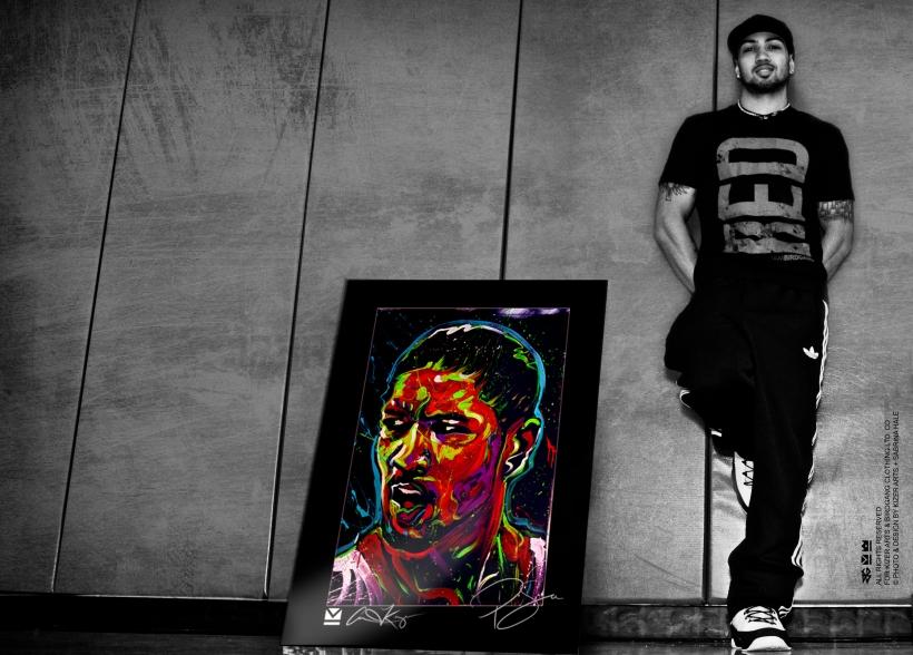Peyton Siva (painting by Aaron Kizer)